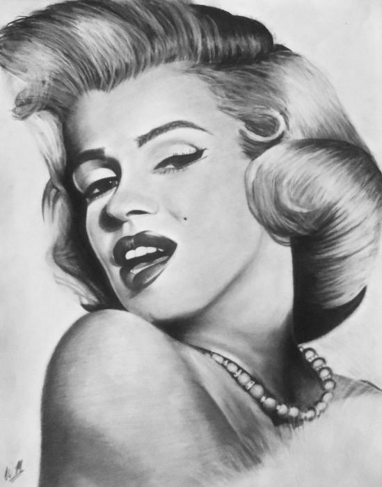 Marilyn Monroe por Malik-2K10